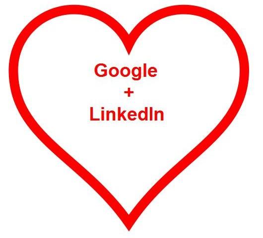 LinkedIn Loves Google