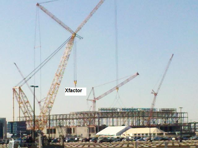 Construction Xfactor-Intel Plant in Chandler-Dec 2011