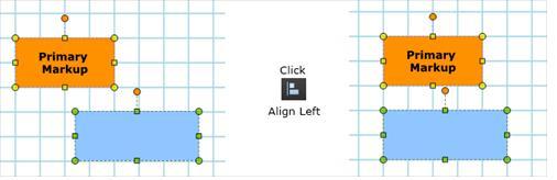 Markup- Alignment in Bluebeam Revu