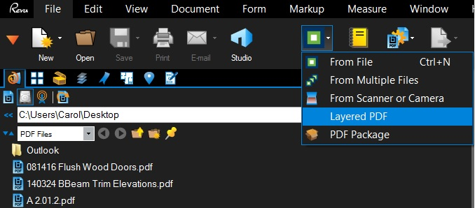 Pull all AutoCAD DWG layer files together