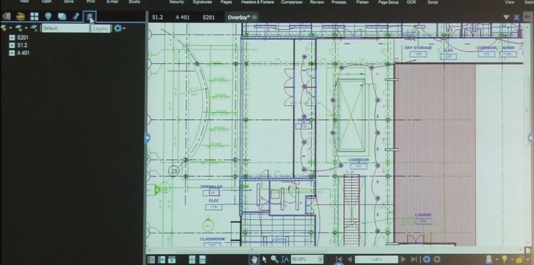 Coordination Overlays in Bluebeam Revu