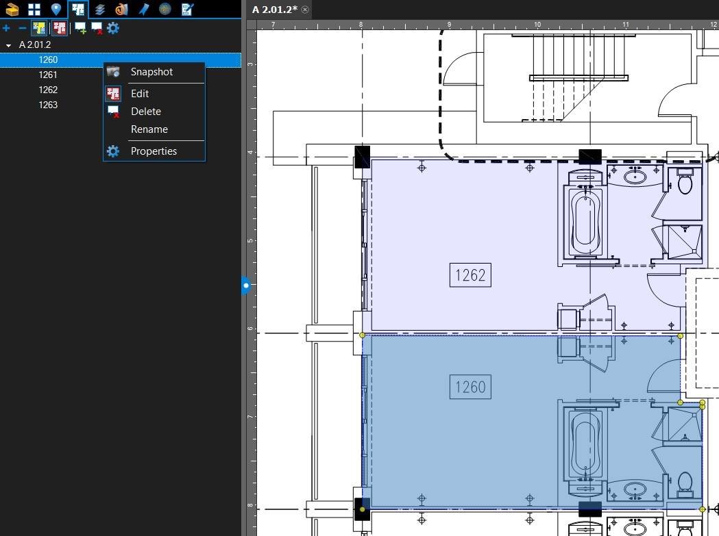 Snapshot a Space in Bluebeam