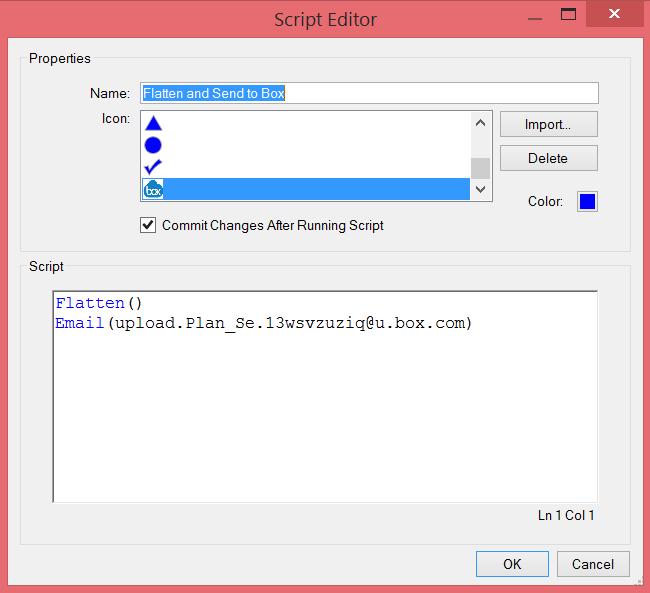 Bluebeam Extreme Script Editor