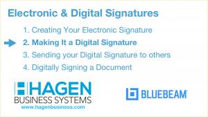 Blueberam Revu: Bluebeam Digital Signatures Creation: Making a digital signature