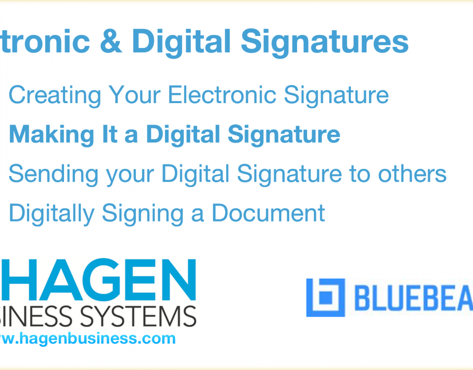 How to create a Bluebeam digital signature