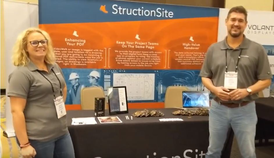 Construction Video Capture with StructionSite